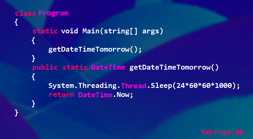 getDateTimeTomorrow()